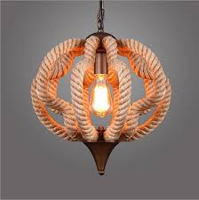 Thick Hanging Rustic lamp In astonishing Design